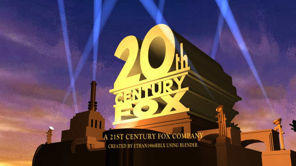 My own version of the 20th Century Fox logo by