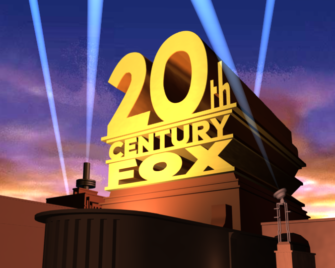 20th century fox logo from the simpsons dvd by