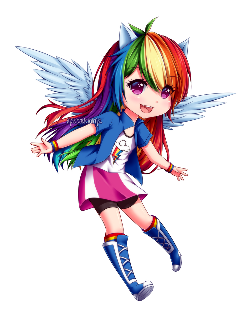 Rainbowdash by epicCOOKIninja on DeviantArt