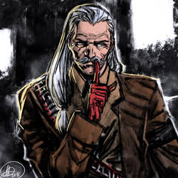 Revolver Ocelot (MGS) by amarcus88LG