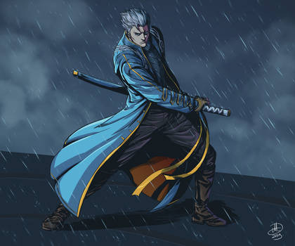 Vergil (Devil May Cry 3 and 5) by amarcus88LG