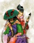 Issun and Ushiwaka