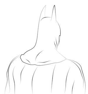 Batman lineart