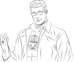 Albert Wesker as Black Lantern by Vierna-Drottingu