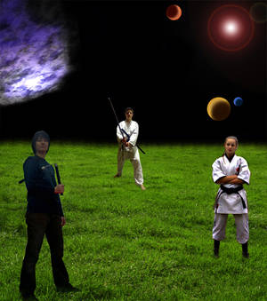 Martial arts and space