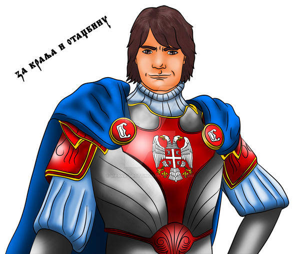 Serbian Knight colored