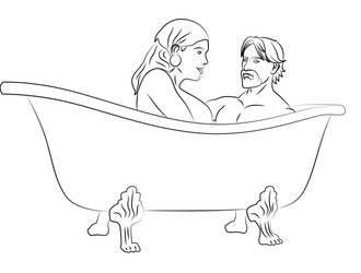 Bath time DA2 by Vierna-Drottingu