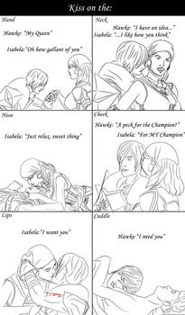 Dragon Age 2 Kiss meme