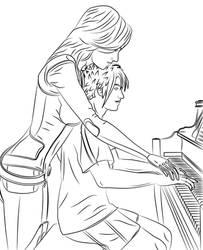 Piano lesson by Vierna-Drottingu