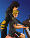 Piano lesson color