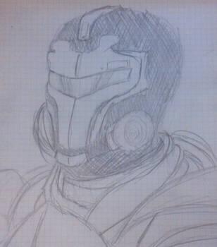 Blood Dragon armor sketch by Vierna-Drottingu