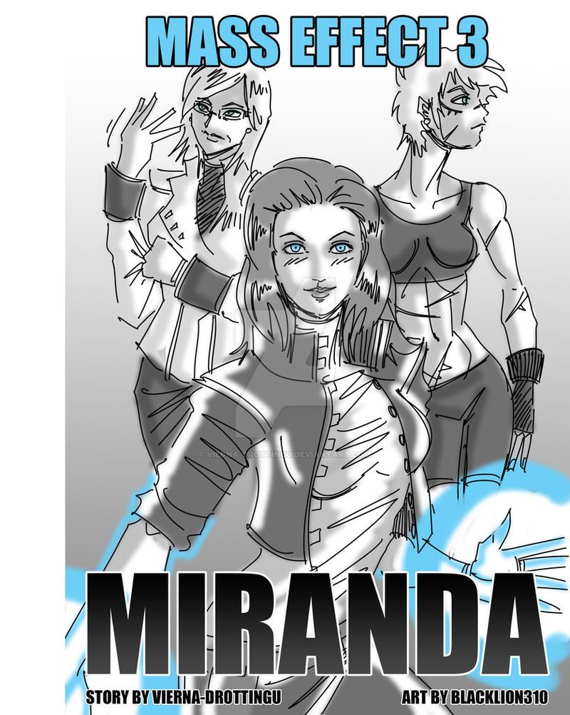 Mass Effect 3: Miranda Cover by Vierna-Drottingu