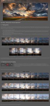 HDR panorama tutorial part.I.