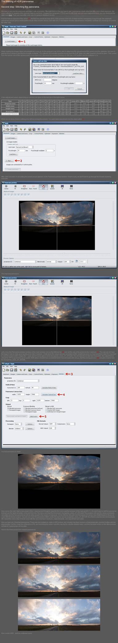 HDR panorama tutorial part.II.