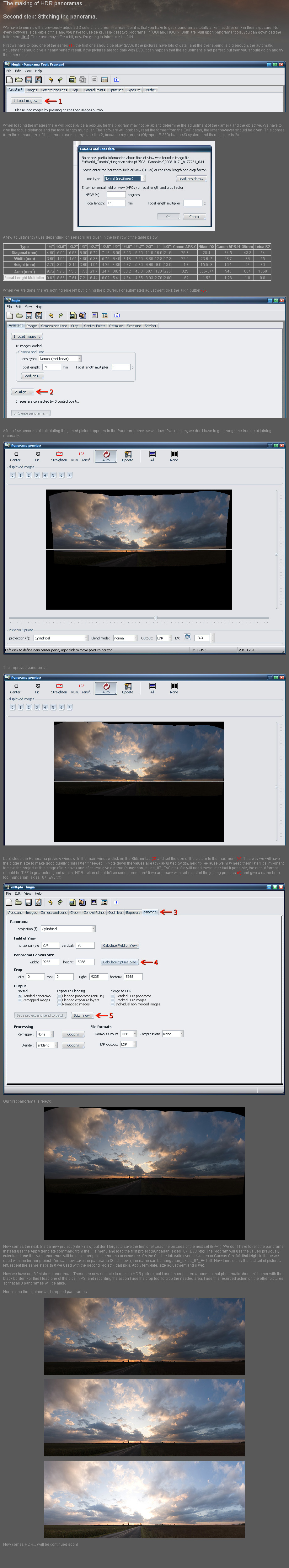 HDR panorama tutorial part.II. by realityDream