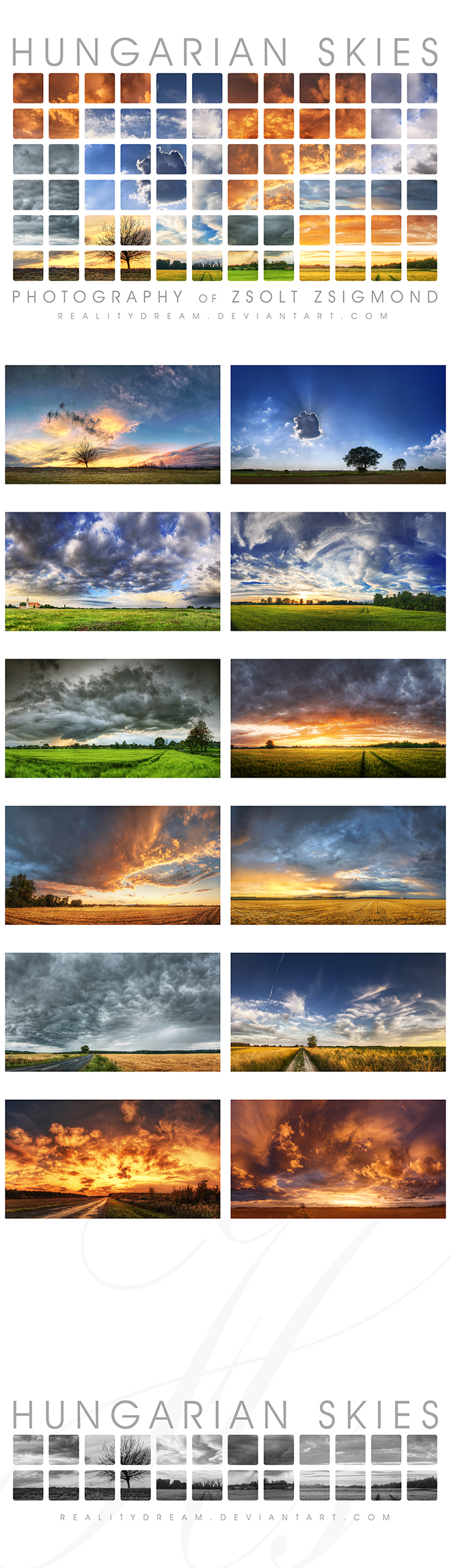 The Hungarian Skies Calendar 2 by realityDream