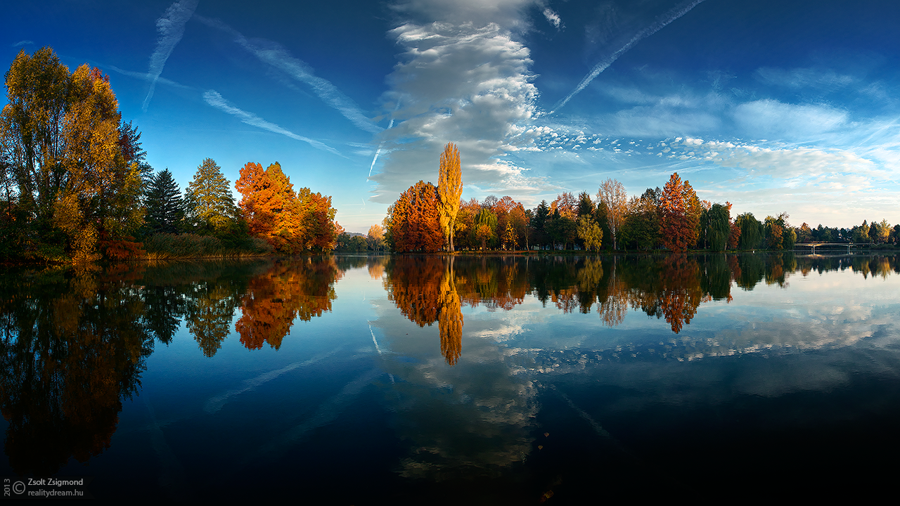 Autumn mirror pt.II. by realityDream