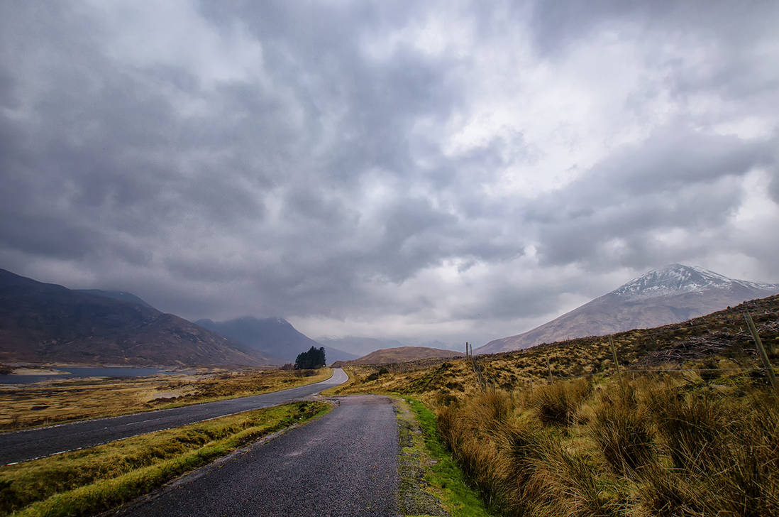 Scottish Highlands IV. by realityDream