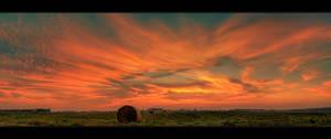 The last sunset of summer