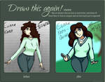 Draw this again! - Evinna's casual outfit