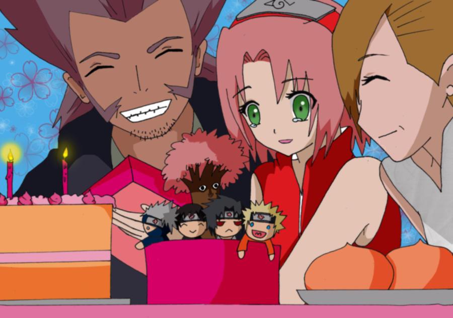Belated Happy Birthday Sakura!!! (March 28) by joy1003