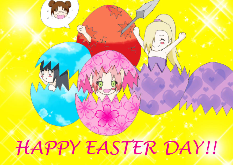 Happy Easter (March 31) by joy1003