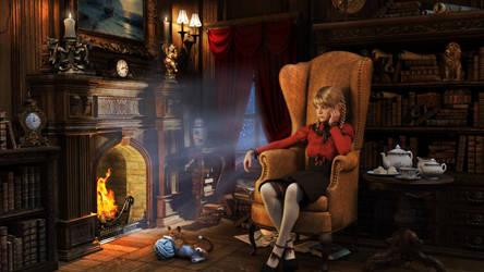 A Curious Fairytale 002 by SirTancrede