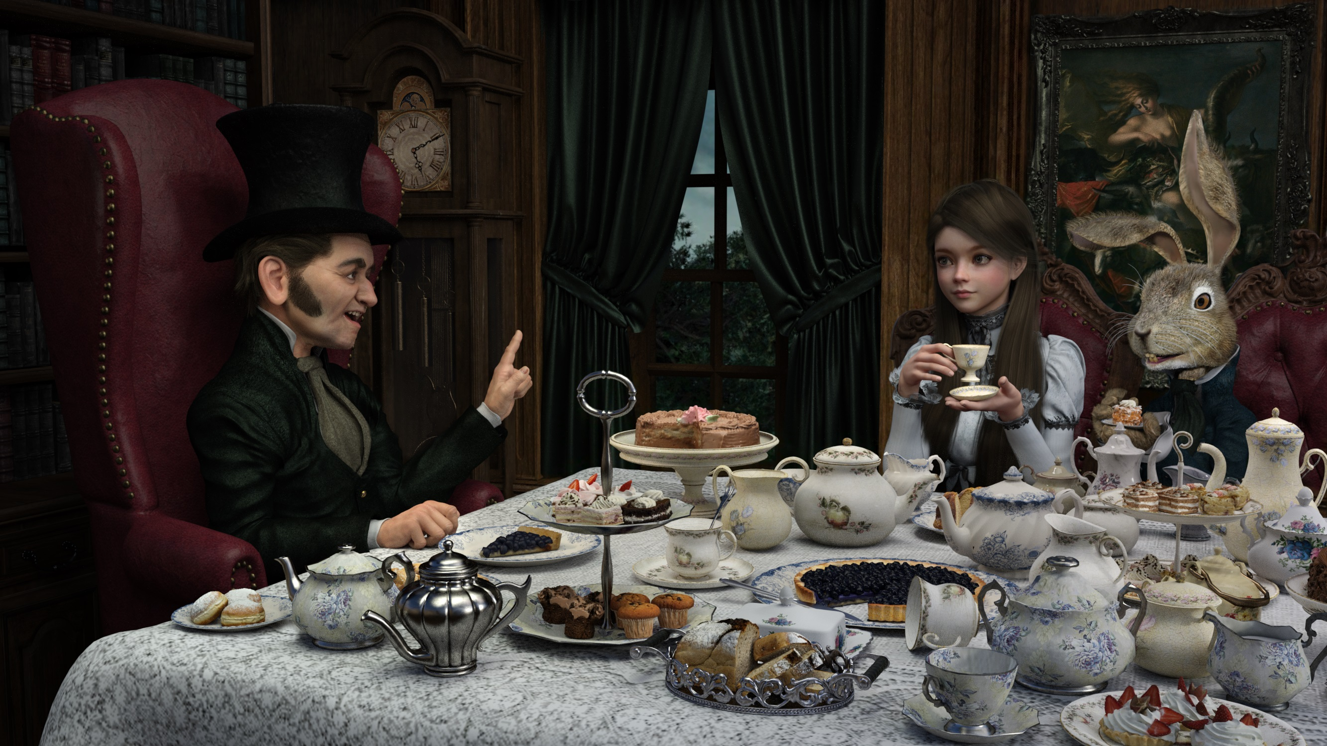 A Victorian Dark Fairytale 005 by SirTancrede