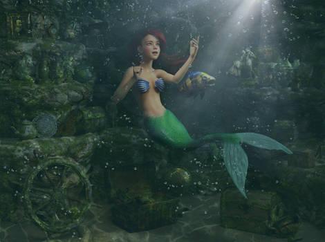 Disney Fairytales : The Little Mermaid 003