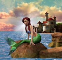 Disney Fairytales : The Little Mermaid 004