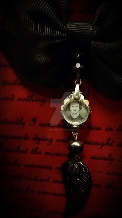 For Sarah, Memento Mori, Edgar Allan Poe-Detail