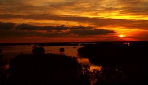 The Golden lake of Kuolimo