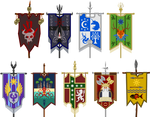 War Banners of the Nine Nations