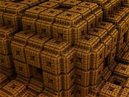 Lego Menger by AureliusCat