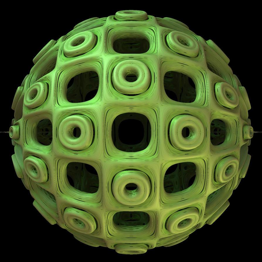 Mint Ball by AureliusCat