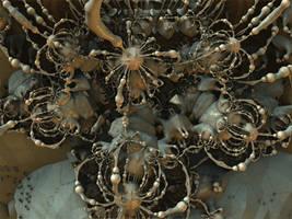 Orb Spiders by AureliusCat