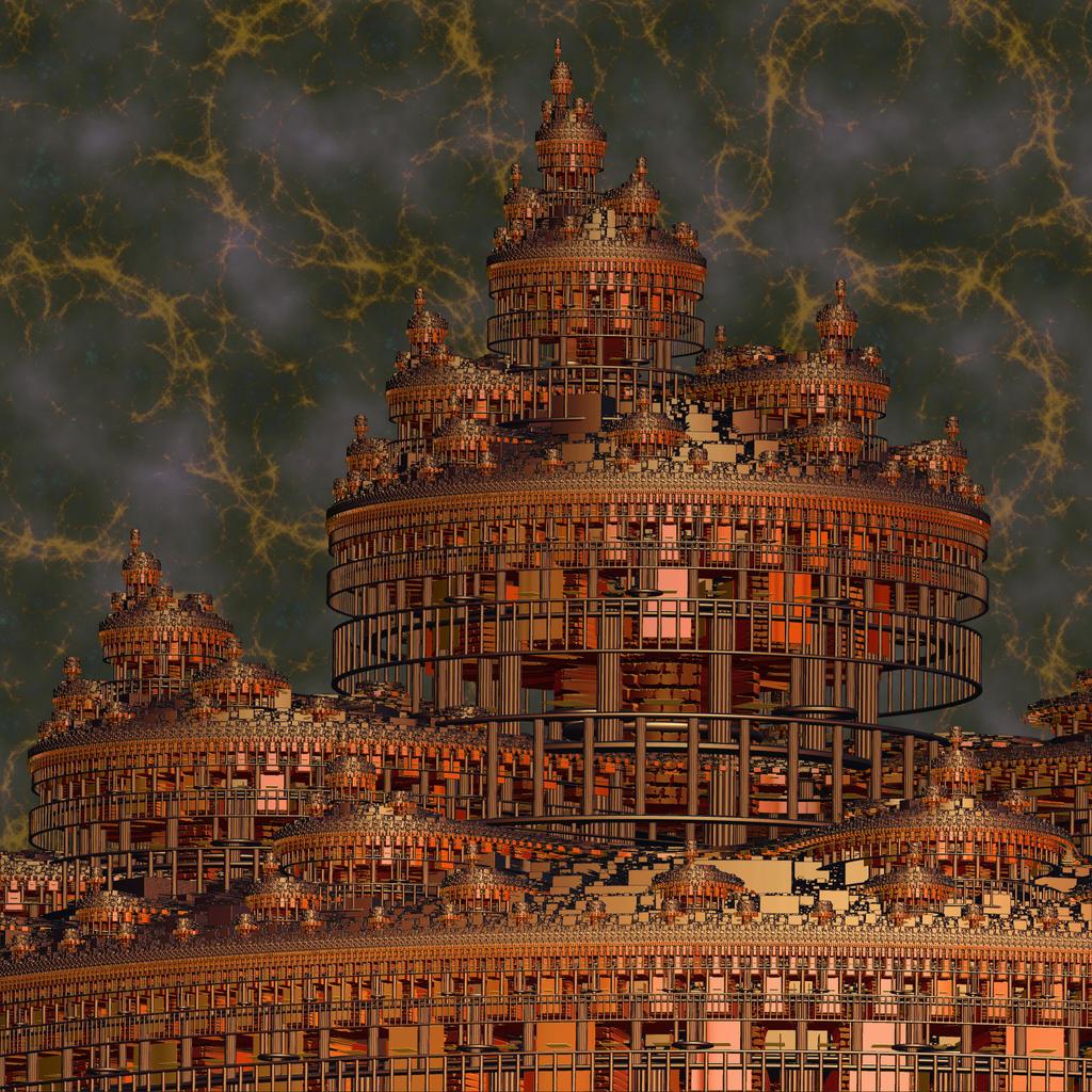 Stormy Donjon by AureliusCat