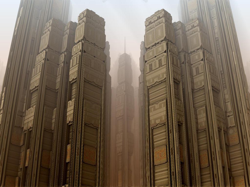 Skyscraper Complex by AureliusCat