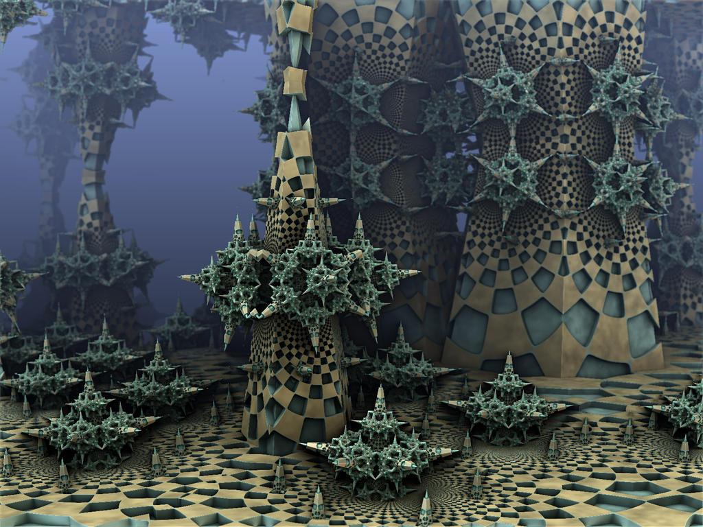 Koch Crystals by AureliusCat