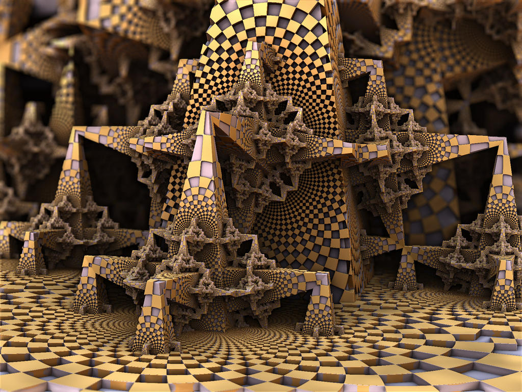 Checker Stir by AureliusCat