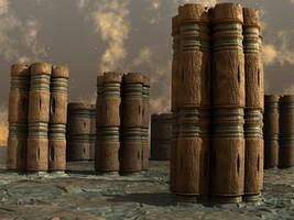 Pillars On The Plain