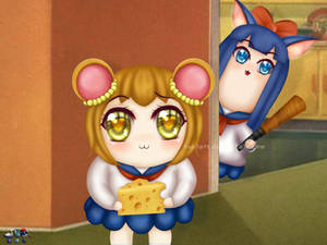 Pop Team Epic (Tom and Jerry)