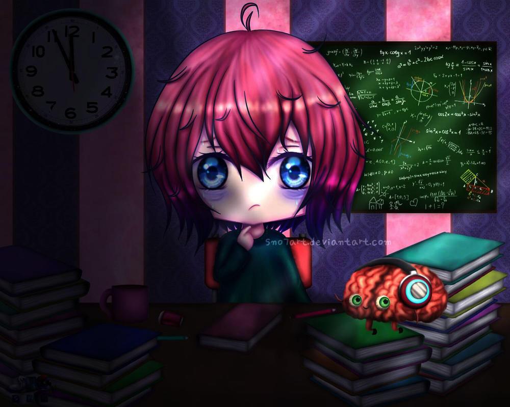 Study....Study....Study... by SNO7ART