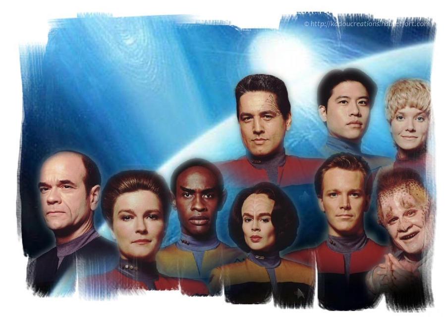 Star Trek Voyager Season 1 by KadouCreations