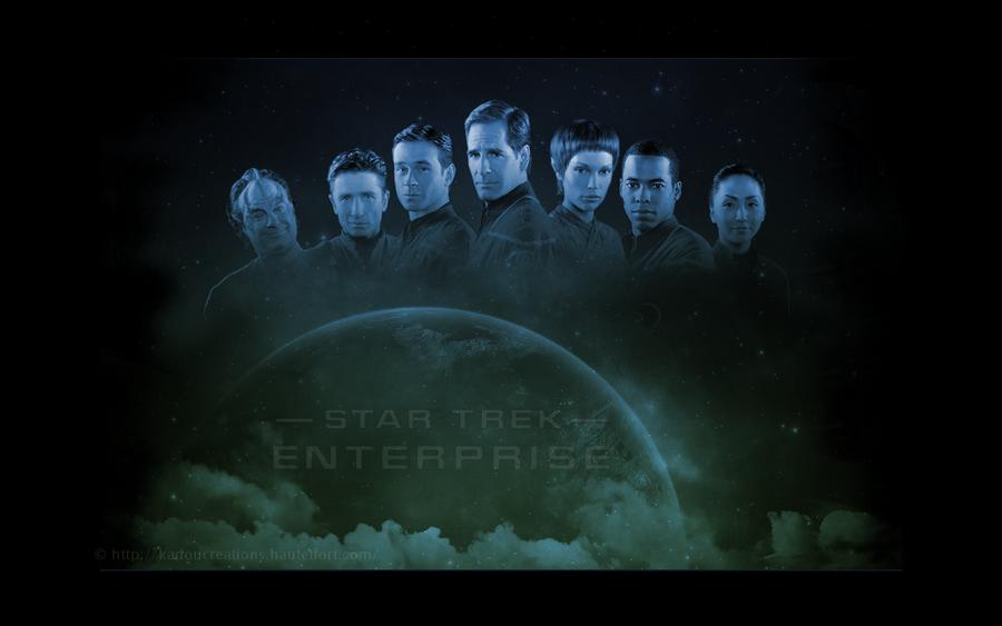 Star Trek ENT All Crew by KadouCreations