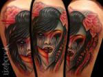 Creepy Geisha