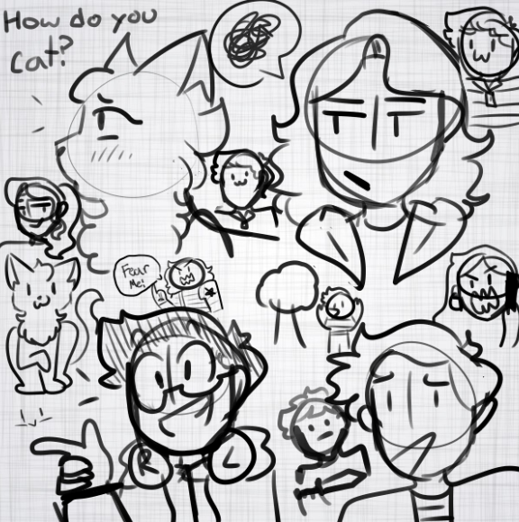 I Doodle To Much.. by pipa00