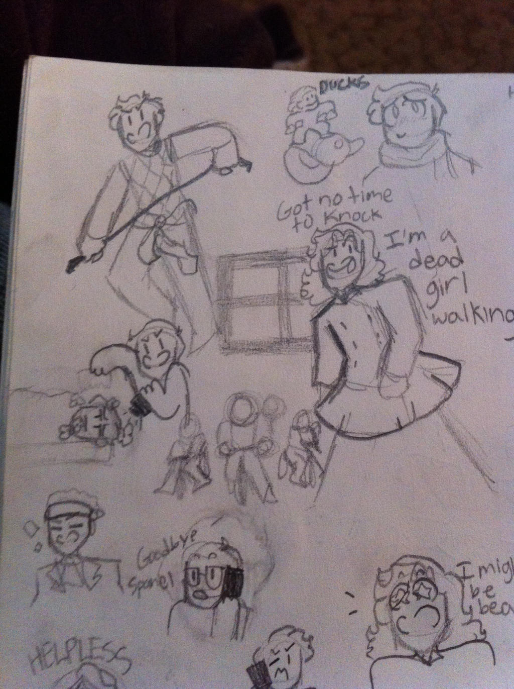 Sketchbook Page part 1 by pipa00