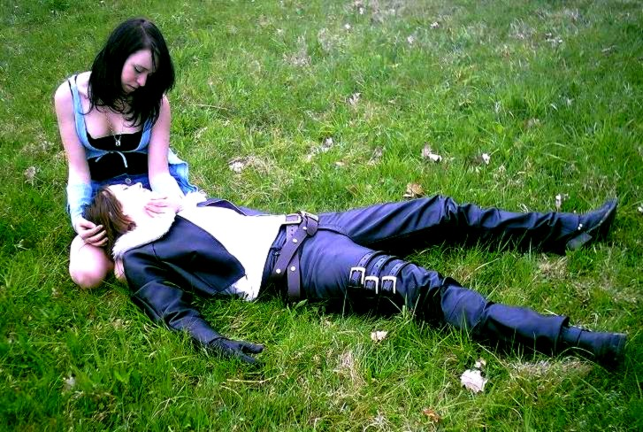 Squall And Rinoa Cosplay Squall And Rinoa 3 by