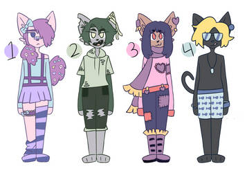 anthro adopts (closed) by hesitantHeroine
